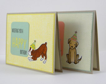 Dog Birthday Card, Boxer Birthday Card, Handmade Dog Birthday Card