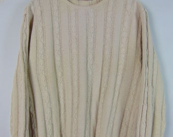 Vintage Cream Jumper