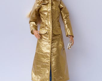 Barbie clothes - Barbie coat and Barbie cap