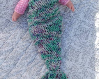 Mermaid Tail Newborn/toddler Photo Prop