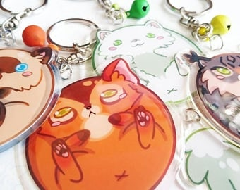 CAT keychains Hearty Paws