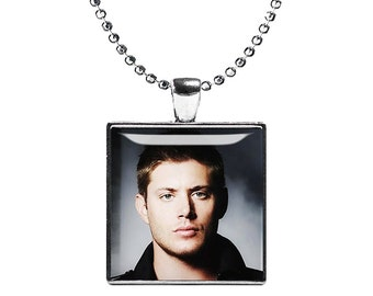 Dean Winchester Supernatural Necklace Pendant Fandom Jewelry Cosplay Fangirl Fanboy