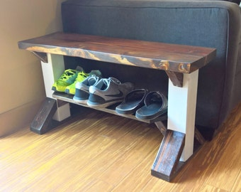Unique Shoe Bench Related Items Etsy