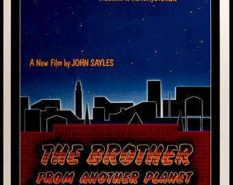 "Brother from Another Planet (1984) Vintage Movie Poster - 27"" x 41"""