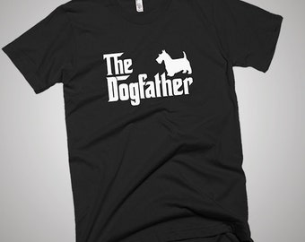 Scottish Terrier DogFather T-Shirt