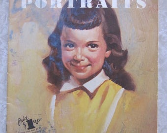 How to Use Color in Portraits Walter Foster Vintage Art Instruction Book #65, How-To Paint Booklet, Guide, Lessons, Painting Technique