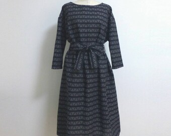 oversize SASHIKO dress