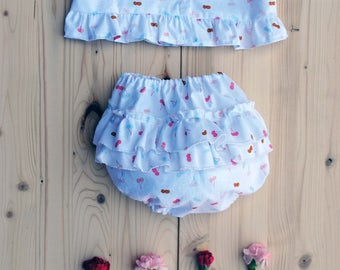 baby Diaper cover and top