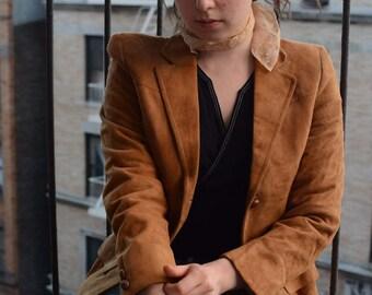 CamelSuede jacket