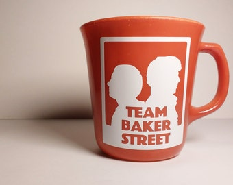 I Love My Team Baker Street Mug