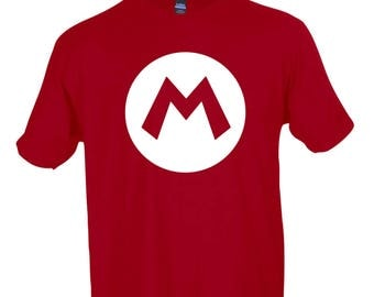 Red Mario Graphic T-Shirt