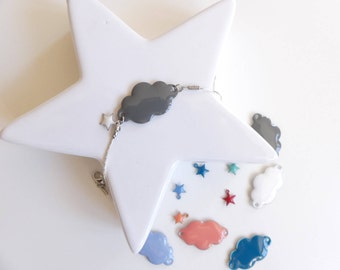 Bracelet head in the clouds