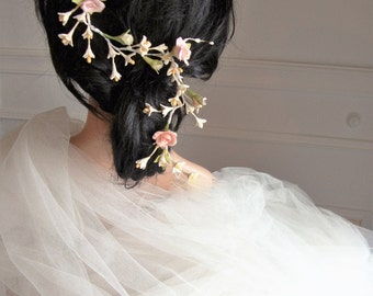 Vine headdress-headband-flower headband-bridal headband-bridal headdress-floral wreath-romantico style-boho chic style-Weddings & parties