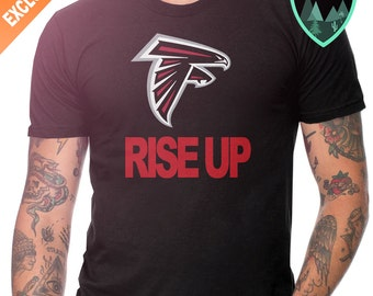 Atlanta Falcons Rise Up Shirt, Rise Up Shirt, Atlanta Falcons Shirt, ATL Falcons, Atlanta Rise Up, Rise Up Falcons, Atlanta Rise