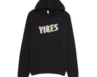 Tumblr Hoodie, Tumblr Sweatshirts, Yikes Hoodie, Yikes Sweatshirt, American Apparel Hoodie, Printed Hoodie, Cotton Hoodie, Funny Hoodie,