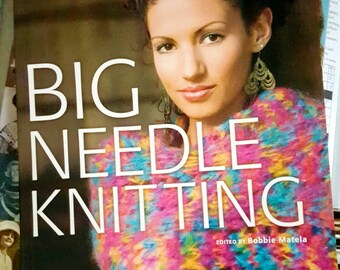 2005 House of White Birches Big Needle Knitting Softcover Knitting Pattern Book Features Plymouth Yarns!
