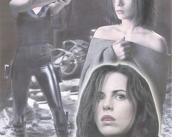 "Kate Beckinsale - Selene from Underworld Limited Edition 11""x17"" Poster Print"