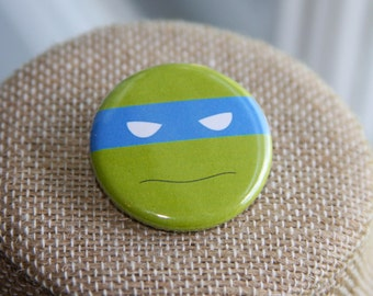 Teenage Mutant Ninja Turtles Buttons, TMNT Buttons, Ninja Turtles Buttons, Minimalist Buttons