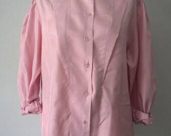 Pale pink shirt | Etsy
