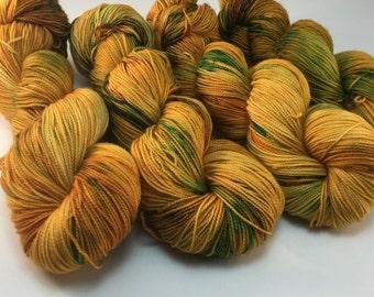 Golden Sunflower - 80/20 - Merino wool and nylon