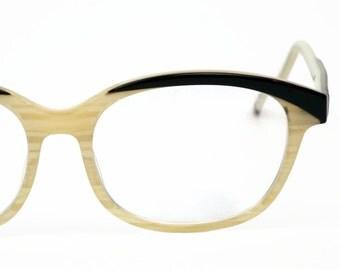 Vintage Eyeglasses, 80's 90's Zenni Plastic Glasses, Vintage Eyewear Women's Frames Hipster Glasses