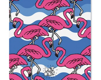 DAT MAT - Flamingos Yoga Mat - Cool Custom Yoga Mat