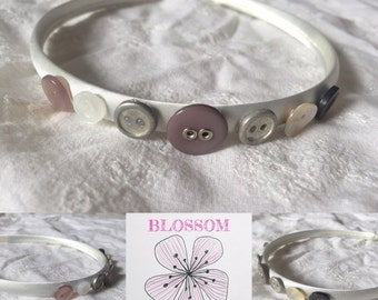 Button Alice Band