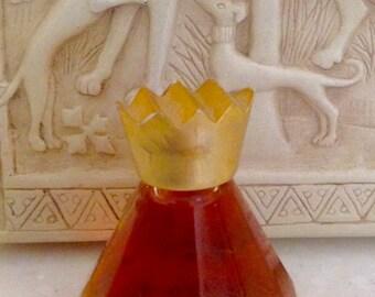 Vintage TODD OLDHAM Miniature Perfume Bottle 0.20 Fl. Oz. 6.5 Ml. Eau de Parfum Splash Crown Top Dab-On Bottle