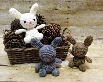 Easter gifts etsy crochet bunny crochet stuffed bunny stuffed bunny crochet animals stuffed animals negle Image collections