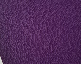PURPLE TEXTURED LEATHER faux leather sheet, 8x11 faux leather, textured faux leather,purple faux leather, vegan leather, faux leather fabric