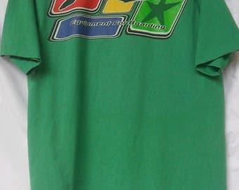 Vintage Rusty T Shirt//Surfing//Big Logo//Made in USA//Single Stitch