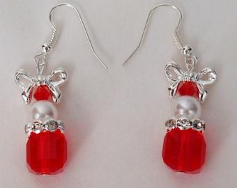 Christmas Package Earrings
