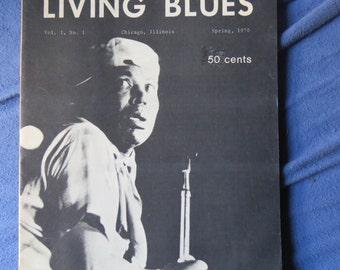 Living Blues Mag vol 1 Issue 1