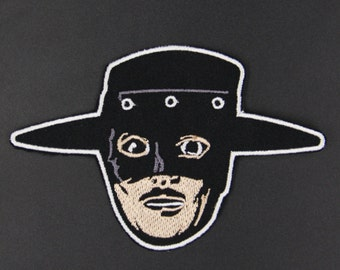 The Mask of Zorro Iron On Embroidered Hero Movie Patch
