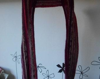 Handmade Red Star Stich Scarve