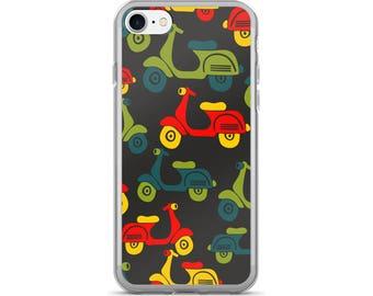 Scooter iPhone Case, Phone Case Scooter, Scooter Phone Case, Protective iPhone Case, iPhone 7 Case, iPhone 6 Case, iPhone 5, Vespa Scooter
