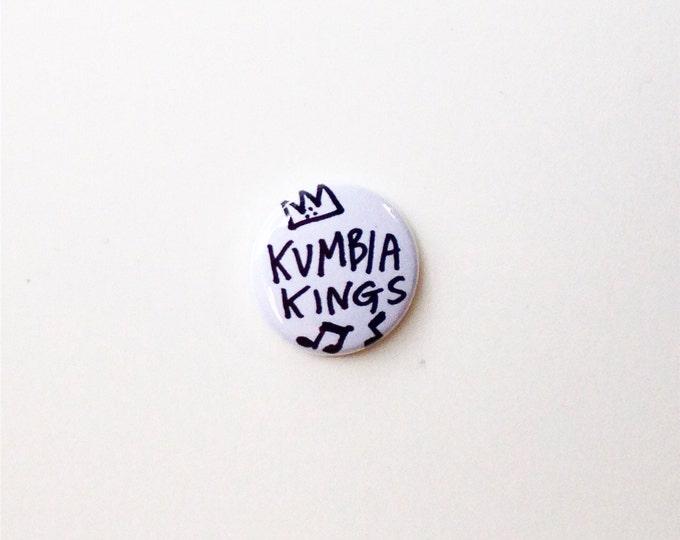 "Kumbia Kings 1"" pinback button"