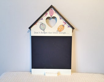 Up-cycled Decoupage Chalkboard