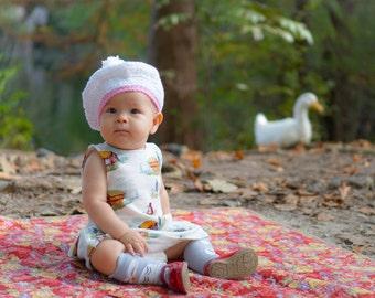 Baby Crochet Beret