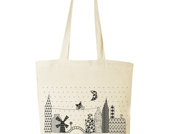 cotton bag with print