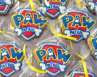 15 Paw Patrol Cookies Party Favors