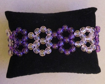 Handmade Beaded Bracelet (B-08) - Ready-made / DIY Kit