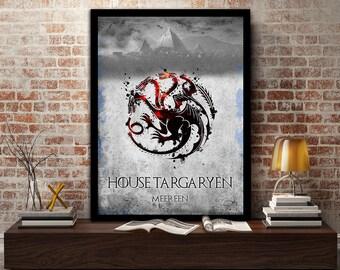 House, Targaryen, Game Of Thrones,Daenerys, Winter, Winter is coming, Mother Of Dragons, Khal Drogo, khaleesi,
