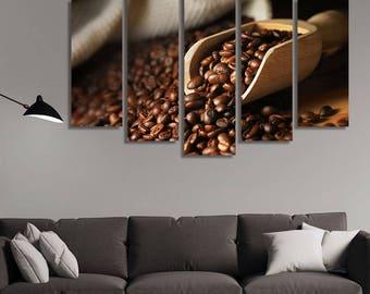Coffee Scoop, Coffee Roaster, Coffee, Coffee Wall Décor, Coffee Wall Art, Coffee Bar, Coffee Bar Décor, Café Wall Décor, Coffee Bar Ideas