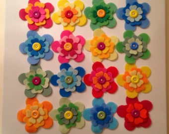Beautiful Floral Canvas 'Summer'