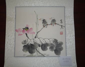 Chinese painting, a collection of small wall decor