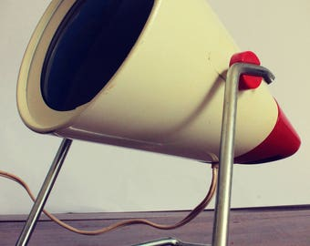 Charlotte Perriand designer lamp Philips Infraphil 1960s/70s vintage retro loft style