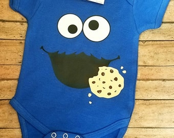 Cookie Monster Shirt or Bodysuit