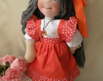 Vivianne by Malina Dolls - New Unique Handmade Doll