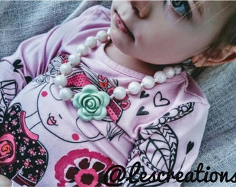 Kids necklace / girl / 0-10 years
